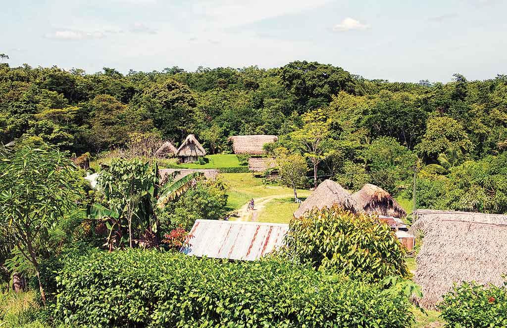 Mayan village of San Pedro Columbia. Photo © Lebawit LIiy Girma.