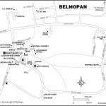 Map of Belmopan, Belize