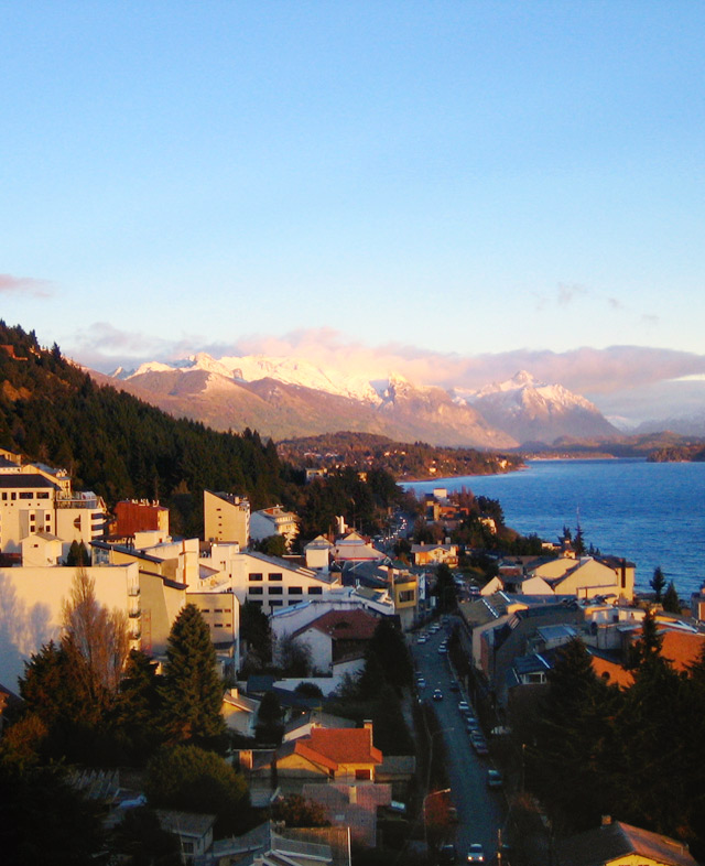 Bariloche is a pleasant, busy ski resort town in the foothills of the Andes in northern Patagonia.