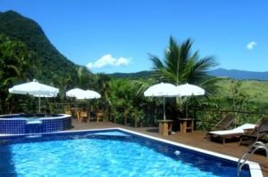 The pool at the Toque Toque Boutique Hotel