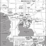 Map of Tampa, Florida