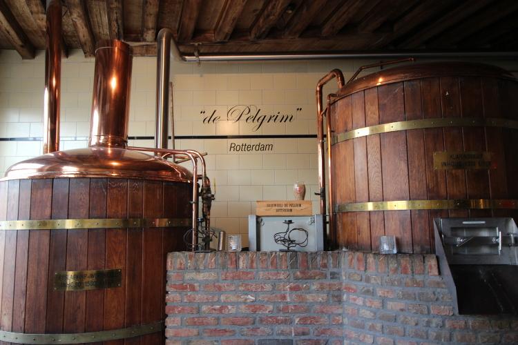 Taste the seasonal brew at Stadsbrouwerij De Pelgrim. Image by Catherine Le Nevez/Lonely Planet
