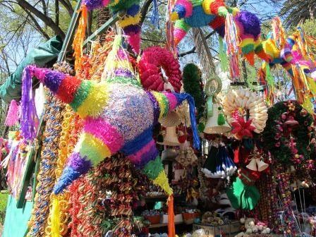 Piñata de estrella