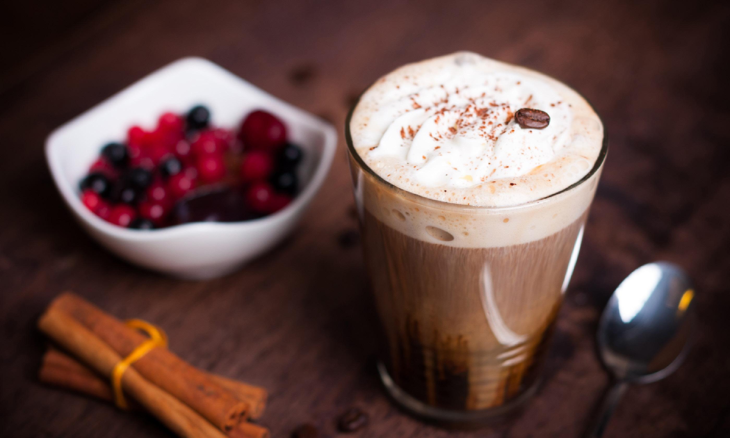 Ванильный капучино рецепт кофейня