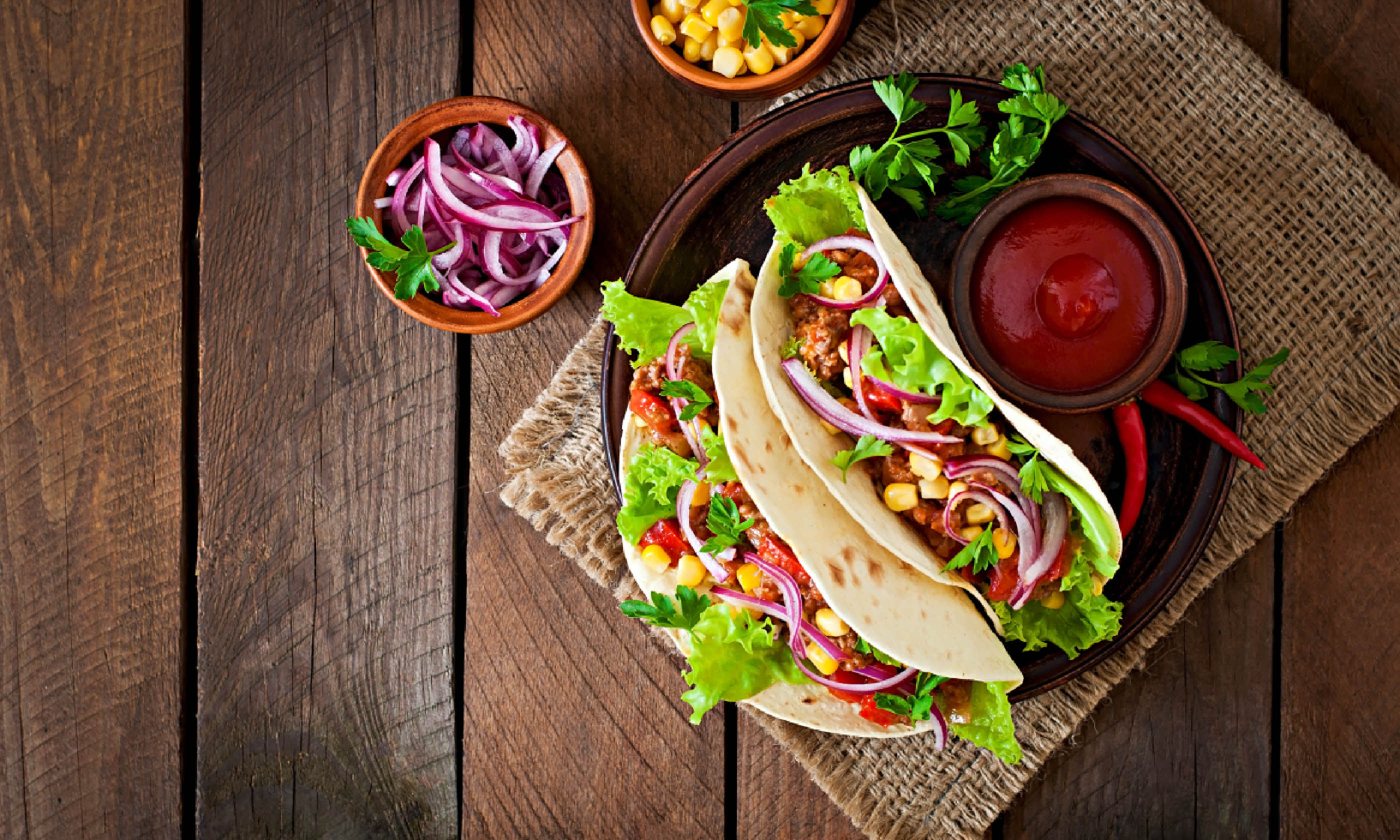 Mexican tacos (Shutterstock)