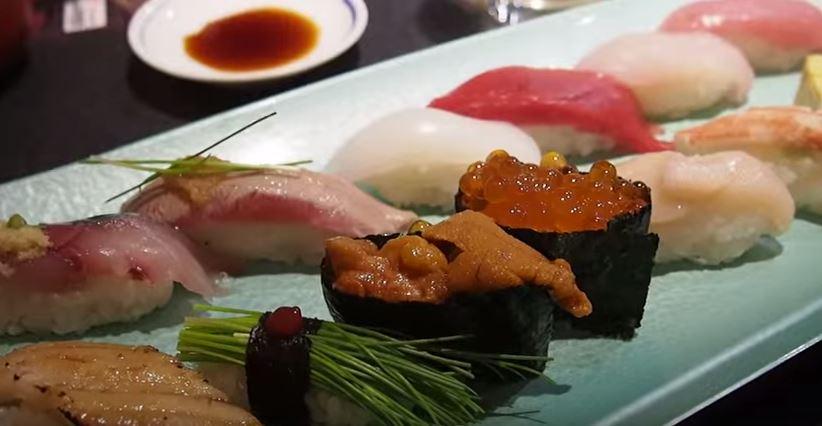Sushi at Tsujiki