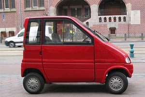 The World S Smallest Car Meet The Canta Holland