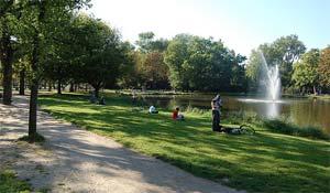 Vondelpark Amsterdam S Central Park Holland