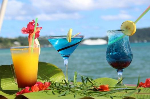 Cocktails at Au Fare.