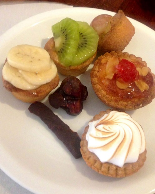 The pastry and sweet delights at Au Peche Mignon are the best in town.