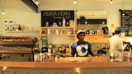 Pergamino cafe, Medellin, Colombia.
