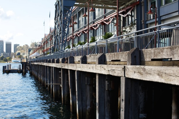 More than a century old, the Pier One building began its life as a working cargo wharf and passenger transit point.