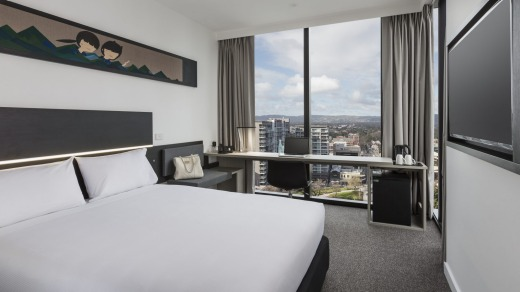 The Ibis Adelaide is sleek and near-new.