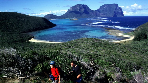 A short flight from Sydney, Lord Howe Island is a perfect remote island escape for mums.