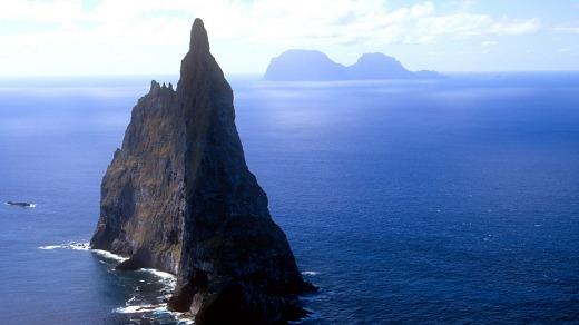 Balls Pyramid, Lord Howe Island.