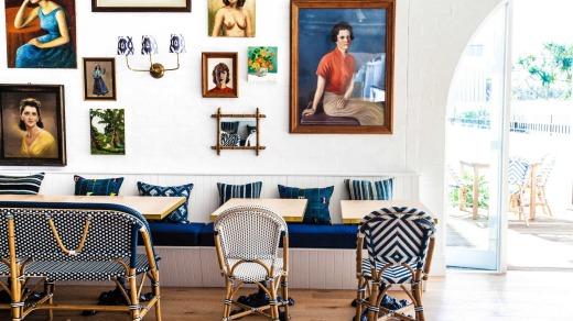 Coastal getaway: Halcyon House.