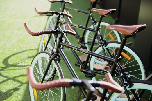 St Jerome's hires out bikes for $15 per half day, the proceeds aiding volunteering organisation YGAP.