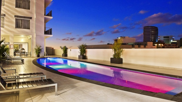 Elan Soho Suites'  pool may be too cool for most Territorians.