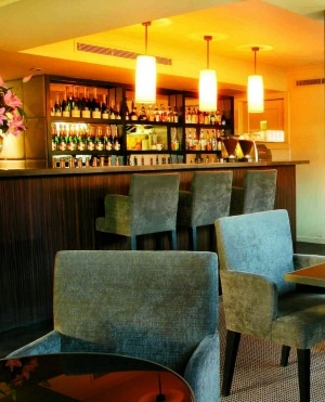 Try a cocktail at the the Lyall Hotel's bar.