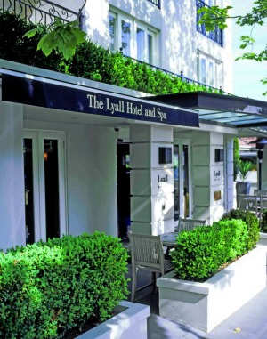 The Lyall Hotel and Spa has won  four World Travel awards since opening in 2002.