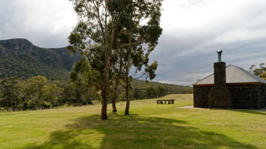 Gorgeous Victorian countryside surrounds the cottages.