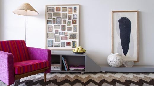 Retro chic: Canberra's Design Icon Apartments.