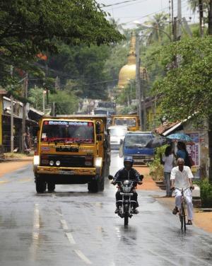 Dambulla, Sri Lanka.