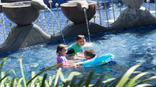 Pool time at the Holiday Inn Resort Bali Benoa.
