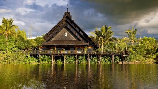 The Princess Resort at Inle Lakes, Myanmar, where a Burmese cat breeding program is under way.